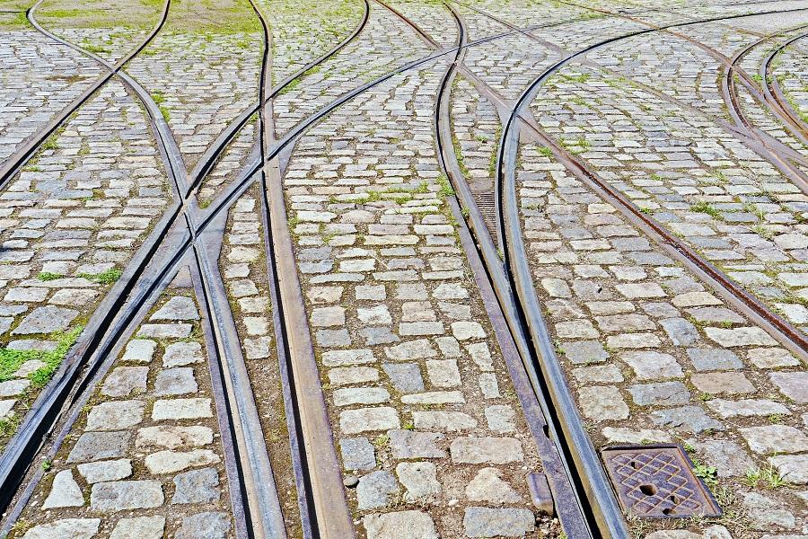 KMS Modul Schienen Kreuzung